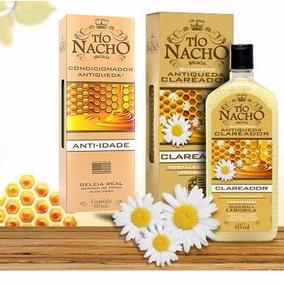 Shampoo Clareador E Condicionador Antiqueda Tío Nacho 415ml