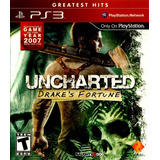 Uncharted El Tesoro De Drake (drakes´s Fortune) Ps3