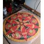 Mandala 50 Cm En Mosaico -cuadro- Azulejos Venecitas