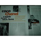Coco Chanel Tejido Fabula Feroz 3 Pg Clipping Revista Elle