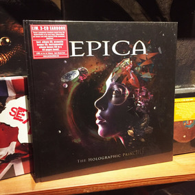 Epica The Holographic Principle 3 Cd Earbook