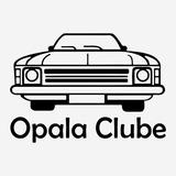 Adesivo Clube Do Opala Opaleiros 22cm Diversas Cores A182