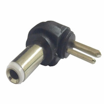 Conector Plug Para Fonte Carregador Universal Pino Branco