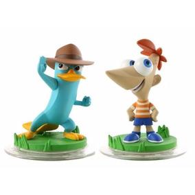Personagens Disney Infinity 1.0 Phineas E Agente P