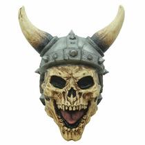 Mascara Viking Skull Latex Halloween Dia D Muertos Calaverit