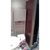 Mueble Para Baño Sobre Inodoro Con Puertas Y Estantes