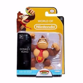 Boneco Donkey Kong World Of Nintendo Dtc ( Mario Bros )