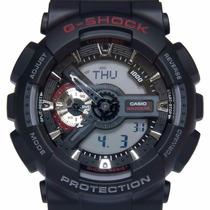 Relógio Casio G-shock Ga-110 1a Wr200 5 Alarmes H. Mundial N
