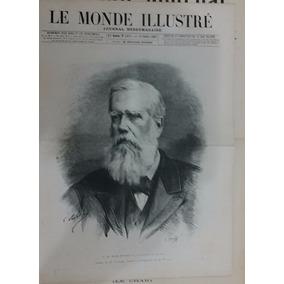 S. M. Dom Pedro Ii - (le Monde Ilustrée - 1887)