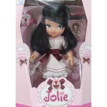 Boneca Jolie Morena Infantil Grande