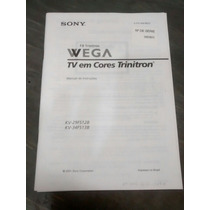 Manual Da Tv Sony Wega Trinitron Kv-29fs12b Kv-34fs13b