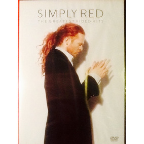 Dvd Simply Red The Greatest Vídeo Hits Classic 80 Lacrado.