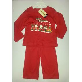 Pijama Navideña Vonbebe Para Niña