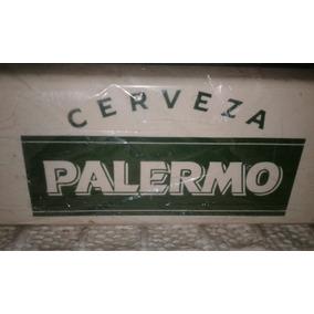 Antiguo Servilletero Cerveza Palermo