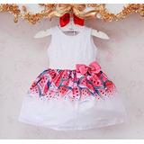 Vestido Mon Sucre Festa Melancia Com Renda 13.09.31144