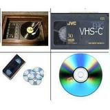 Cassette A Cd, Hi8 A Dvd, Video 8, Vhs-c A Dvd. Lp A Cd