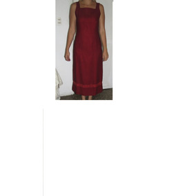 Elegante Y Bello Vestido De Noche En Color Vino Tinto