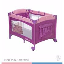 Berco Portátil Play Tigrinha Galzerano