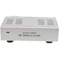 Kit 5 Modulador Conversor De Rca Av Para Rf