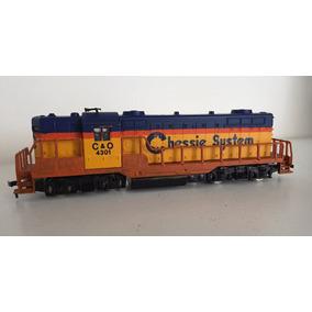 Locomotora Ahm - Gp-18 - Chessie System - Ferromodelismo H0