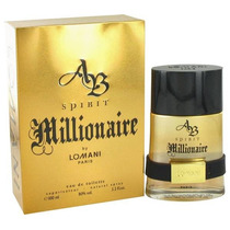 Perfumes Importados Millionaire By Lomani (lata)100 Ml.orig.