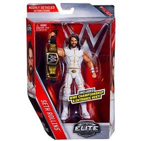 Wwe Seth Rollins Elite 45 Muñeco De Coleccion