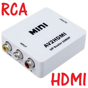 Convertidor Av Audio Video Compuesto Rca A Hdmi Televisor Hd