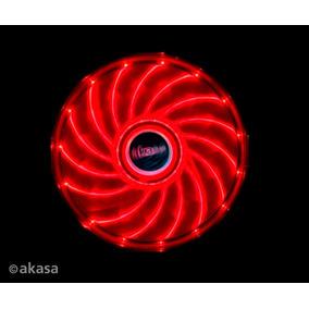 Cooler Fan 120mm Akasa Ak-fn091-rd Vegas Vermelho