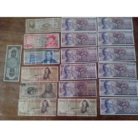 Colección De Billetes Mexicanos Antigüos