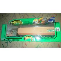 Trailer Super Detallado Farm Trail Llantas De Goma Lyly Toys