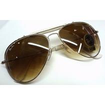 Rb3025q Dourado C/bege+porta Óculos+kit Rb Leilão