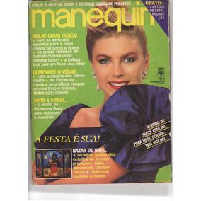 Revista Manequim Nº347 - Nov 1988 - Capa Michele - Com Molde