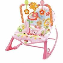 Cadeira Bebe Fisher Price Atividade Bebe Menina Rosa Y4544