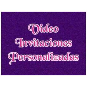 Invitaciones Animadas Tipo Vídeo Para Fiesta Y Toda Ocacion