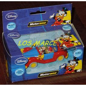 Tio Rico Motorama 1/43 Disney Mickey Mouse Auto Escala
