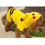 Roupa Para Cachorro Gato Casaco Fantasia Pikachu Pokemon