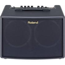 Roland Ac-60: Cubo Amplificador De Violão + Bag + Garantia
