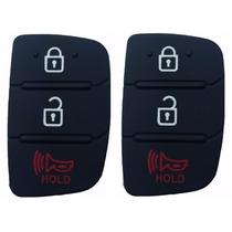 2 Duas Capa Chave Hyundai Hb20 Hb20s - 3 Botões