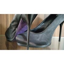 Sapato Salto Alto Meia- Pata Datelli