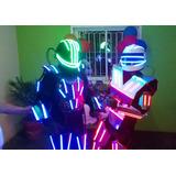 Agrupacion Clase Tambor Show Zulia Robot Led Zancos