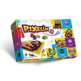 Rasti Pixelin N 2 1000 Piezas 10 Colores Dimare Ladrillos