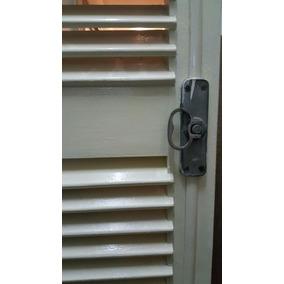 4 Puertas Balcon Postigos Persianas De Cedro De 2,49 X 87 Cm