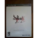 Final Fantasy Xiii-2 Ps3 Collector Edition Sellado