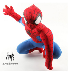 Pelúcia Homem Aranha Brinquedo Spiderman Pronta Entrega