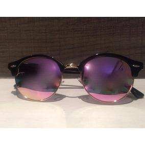 Óculos Sol Espelhado Olho De Gato Feminino Moda Fashion