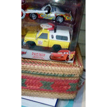 Cars Darrell Cartrip & Pizza Todd Planet Die Cast Set