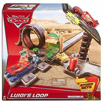 Pista Looping Do Cars Luigi Mattel