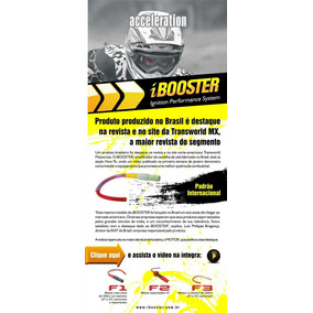 Cabo Ibooster F1 Amplificador De Centelha Fazer 250 Cb 300