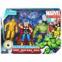 Marvel Universe Classic Avengers Pack Iron Man Thor Hulk