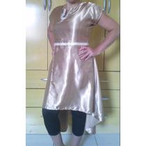Roupa De Dança Evangélica - Vestido De Cetim